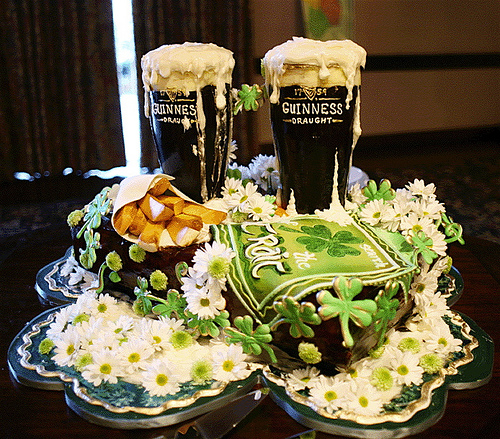 St Patrick 39s Day Themed Wedding