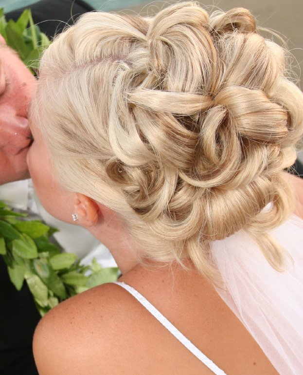 wedding updo hairstyles for short hair. (2) Up do for long hair