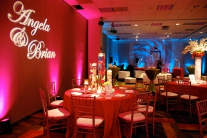 Decor by Neil Leeson, Lighting by Event Lighting